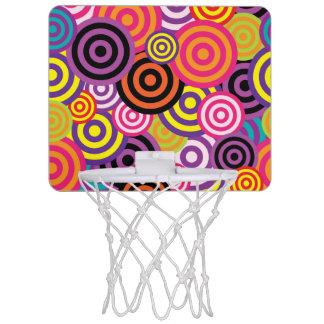 Concentric Circles #2 Mini Basketball Hoop