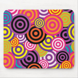 Concentric Circles #2 Mouse Pad