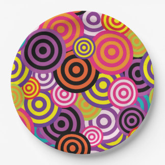 Concentric Circles #2 Paper Plate