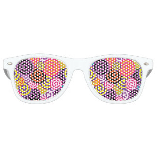 Concentric Circles #2 Retro Sunglasses