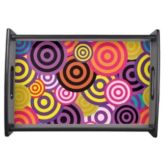 Concentric Circles #2 Serving Tray
