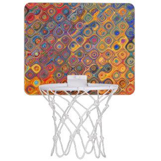 Concentric Circles Mini Basketball Hoop