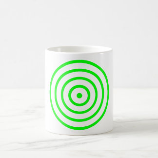 Concentric Colourful Circle Coffee Mug