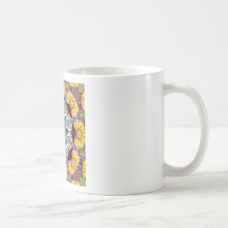 Concentric Lines of Color Coffee Mug