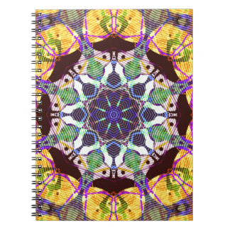 Concentric Lines of Color Notebooks
