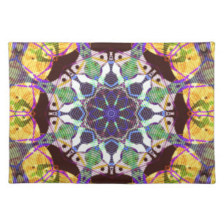Concentric Lines of Color Placemat