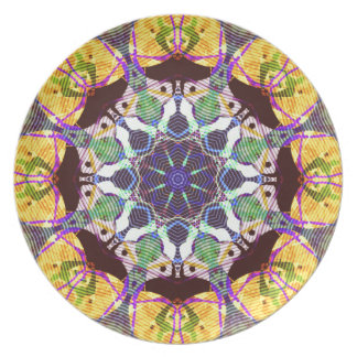 Concentric Lines of Color Plate