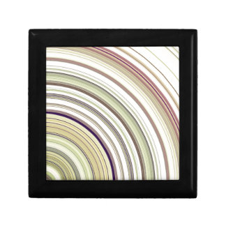 Concentric Rings Abstract Keepsake Boxes