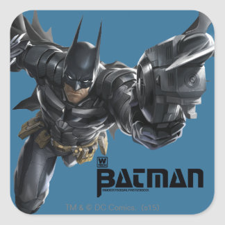 Concept Batman With Batclaw Square Sticker