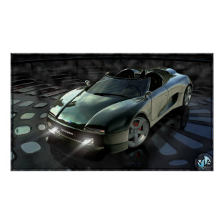 Concept car 2002 poster