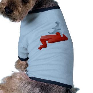 Concept d accomplissement manteaux pour chien
