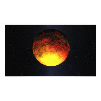 Concept d'artiste de Kepler-10b Photo Sur Toile