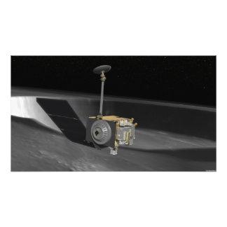 Concept d'artiste de la reconnaissance lunaire tirage photo