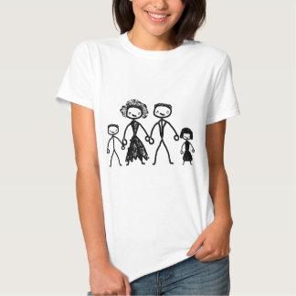 concept de la famille t-shirts