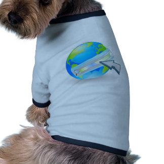 Concept de recherche de Web d Internet Tee-shirts Pour Toutous
