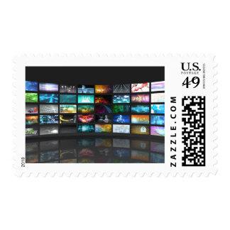 Concept de technologie de production de télévision