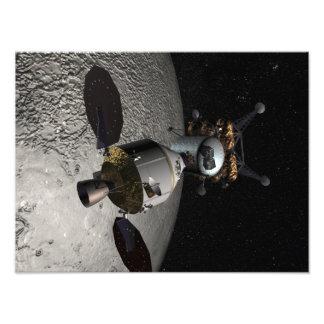 Concept du véhicule d'exploration d'équipage impression photographique