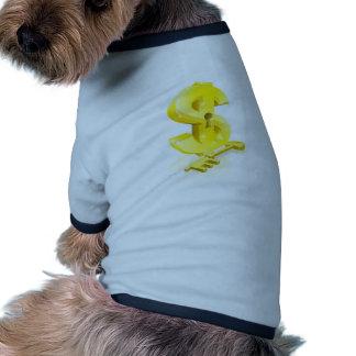 Concept principal de serrure du dollar manteaux pour chien
