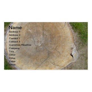 Concepteur aménageant des cartes de visite en parc cartes de visite personnelles