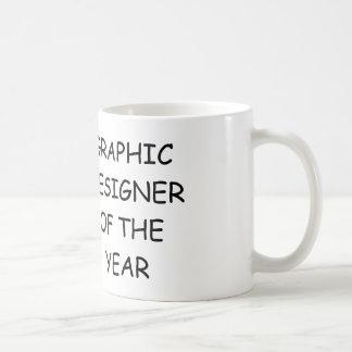Concepteur de l'année mug blanc