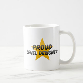 Concepteur de niveau fier mug blanc