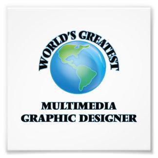 Concepteur des plus grands multimédia du monde impressions photographiques