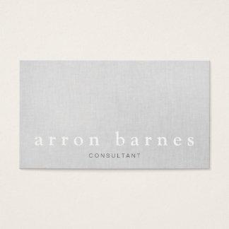 Concepteur minimaliste moderne gris-clair simple cartes de visite