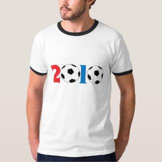 conception 2010 de ballon de football t-shirt