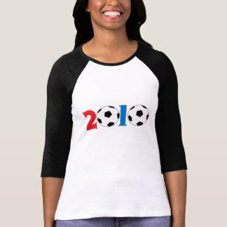 conception 2010 de ballon de football tee-shirt