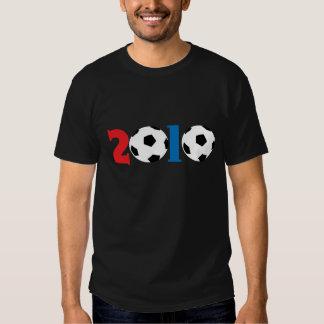 conception 2010 de ballon de football tee-shirts