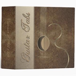 """Conception 2"""" de logo de guitare acoustique"""
