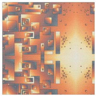 Conception abstraite dans la couleur de mélange tissu