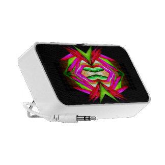 Conception abstraite sur le griffonnage par mini haut-parleur