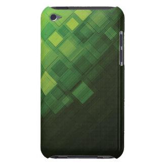 Conception abstraite verte de technologie coque iPod touch Case-Mate
