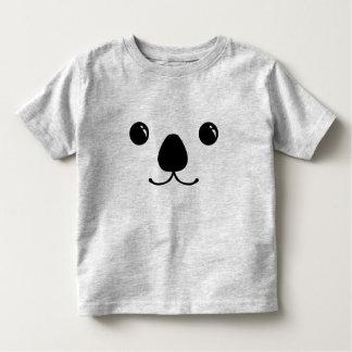 Conception animale mignonne de visage de koala tee shirts