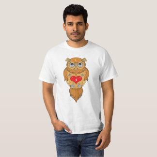 Conception artistique de hibou t-shirt