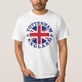 Conception BRITANNIQUE de cru de Tottenham T-shirt