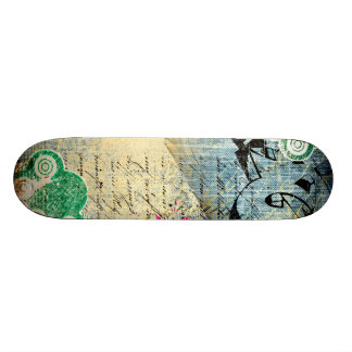 Conception chic abstraite skateboard customisable
