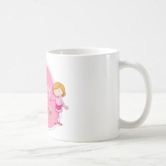 Conception de bannière avec le boulanger et le mug