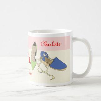 Conception de chaussures de partie - personnalisée mugs à café