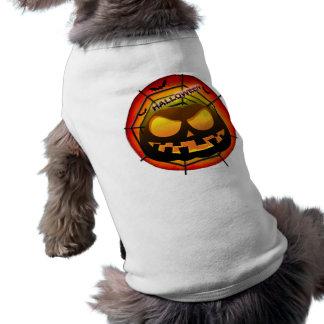 conception de citrouille tee-shirts pour chien