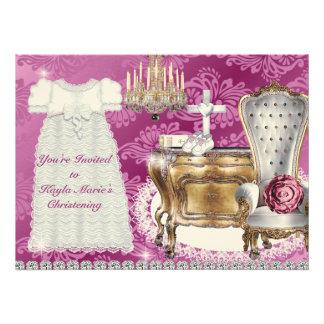 CONCEPTION de DAMASSÉ de ROSE vintage d invitation