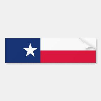 Conception de drapeau d'état du Texas Autocollant De Voiture