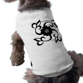 Conception de fleur vêtements pour chien