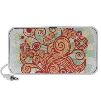 Conception de Flora Haut-parleur iPod