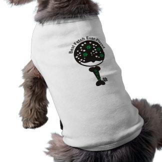 Conception de golf de chemise de chien de PawsID Tee-shirts Pour Animaux Domestiques