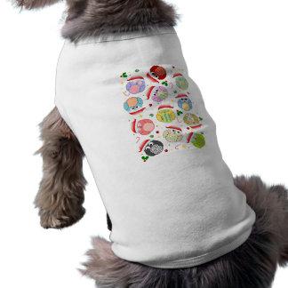 Conception de hiboux de Noël T-shirt Pour Toutou
