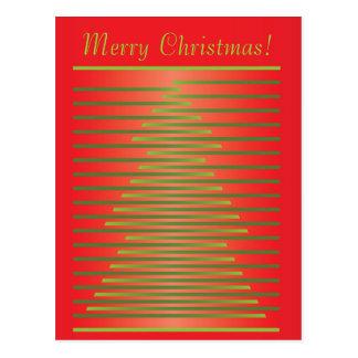 Conception de Joyeux Noël Cartes Postales
