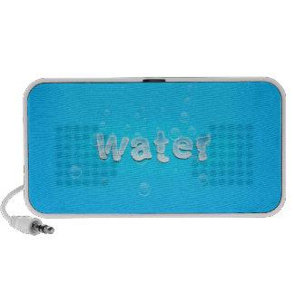 Conception de l'eau haut-parleurs mp3