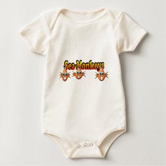 Conception de Monkees de singes de mer Body Pour Bébé
